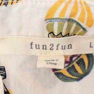 fun 2 fun Tops - Fun 2 Fun Hot Air Balloon Sleeveless Top Large